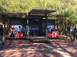 Stellenbosch University: Rooiplein Activation Booking